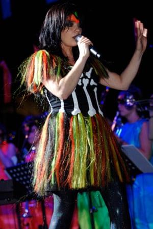 Björk Volta tour Bernhard Willhelm