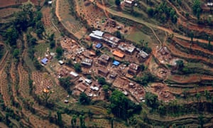 Damaged villages of Sindhupalchwok district, 75 kilometres from Kathmandu. More than 1,260 people were killed in the area and 416 injured.