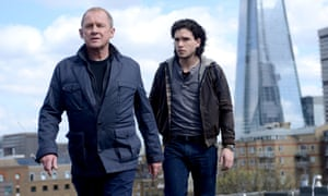 Kit Harington with Peter Firth in Spooks