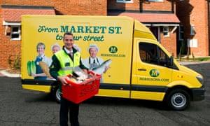 Morrisons delivery van