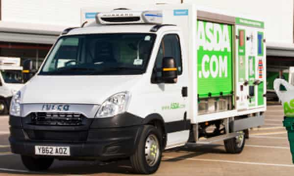 Asda delivery van
