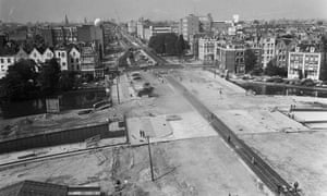 In the 1960s Amsterdam was in danger of being given over to the car – many wide new roads were built with little or no cycle provision.