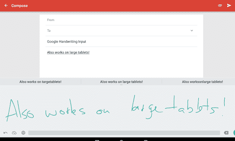 Google Handwriting Input for Android.