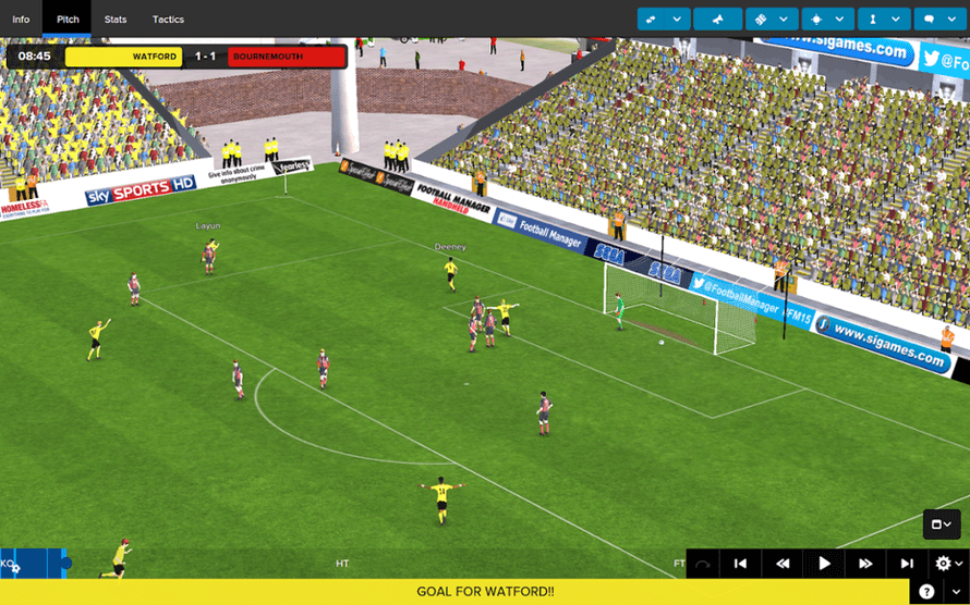 Football Manager Classic 2015 for Android.