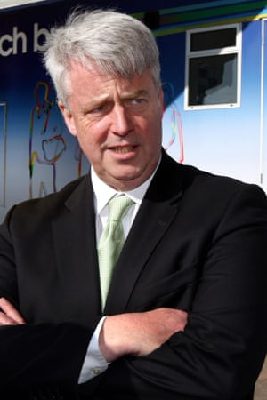 Andrew Lansley during his time as health secretary.