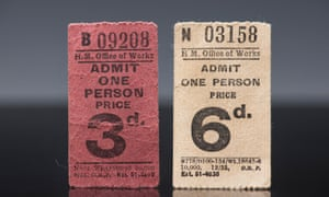 Old Stonehenge admission tickets for child and adult. Charging for entry is nothing new, the exhibition reveals.