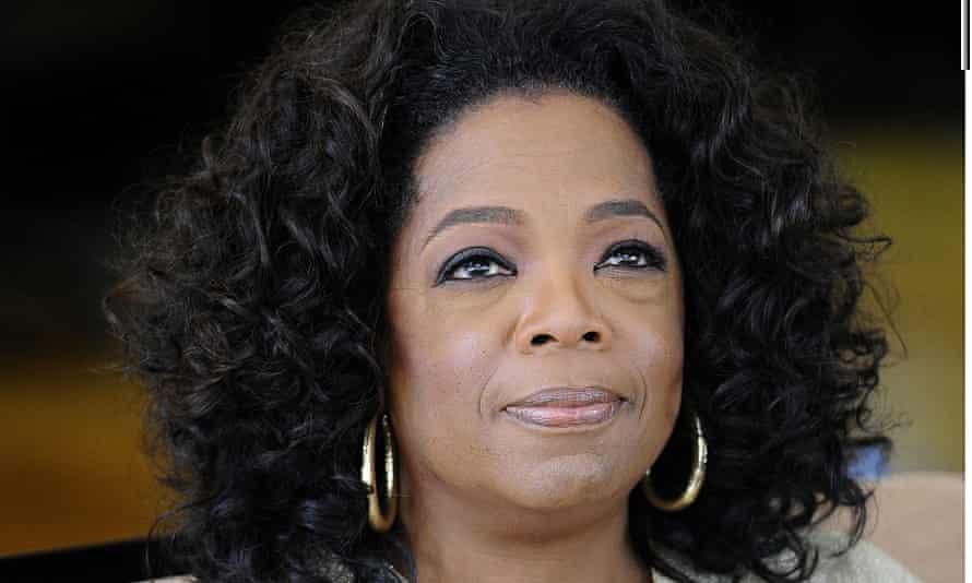 (FILES) US talk show queen Oprah Winfrey