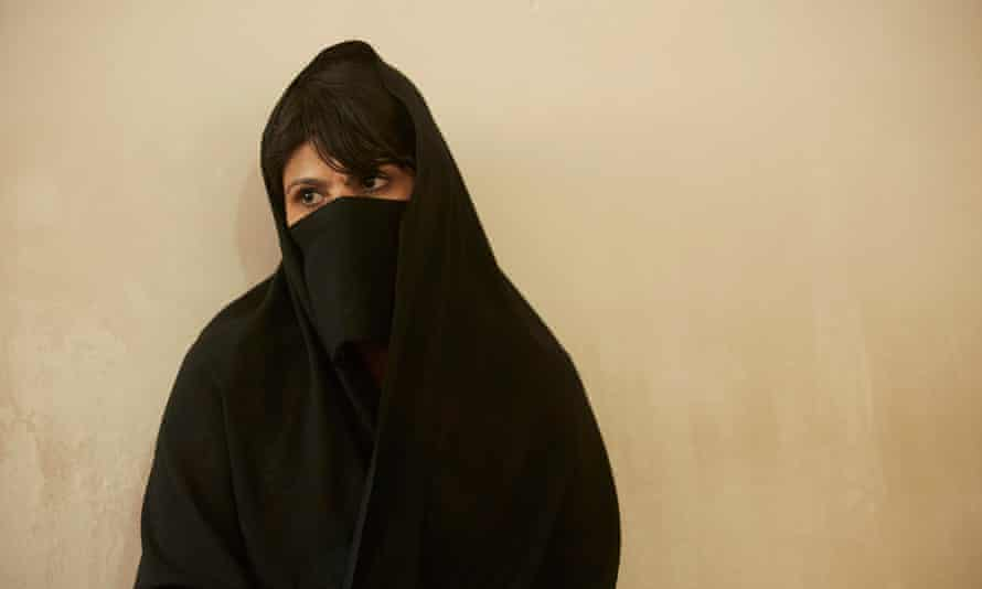 Setara had her face and chest with a knife cut by her husband, disfiguring her for life, Herat