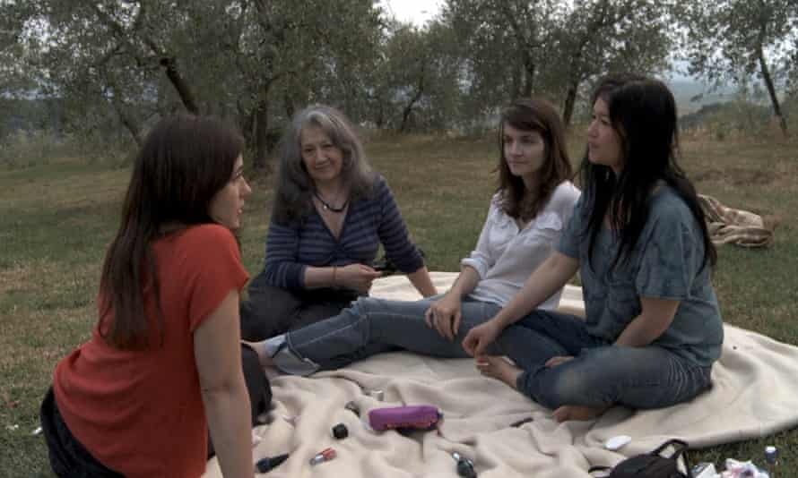Family portrait … Martha Argerich with her three daughters, Stephanie Argerich, Annie Dutoit and Lyda Chen.