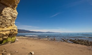California dreamin' … Leadbetter beach, near Santa Barbara.