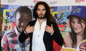 Russell Brand delivers Reading Agency's annual lecture, London, Britain - 25 Nov 2014