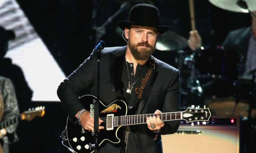 Zac Brown performs Paul Butterfield Blues Band at the Rock'n'Roll Hall of Fame.