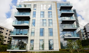 New homes at the Woodberry Down development in north London.