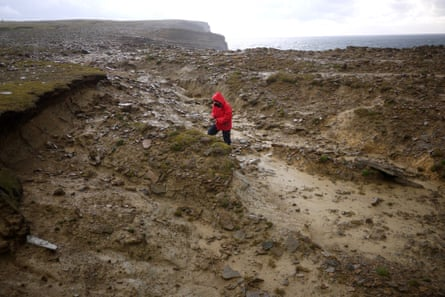 Borland & Condon: Clay Research, Bay of Skail, Orkney.