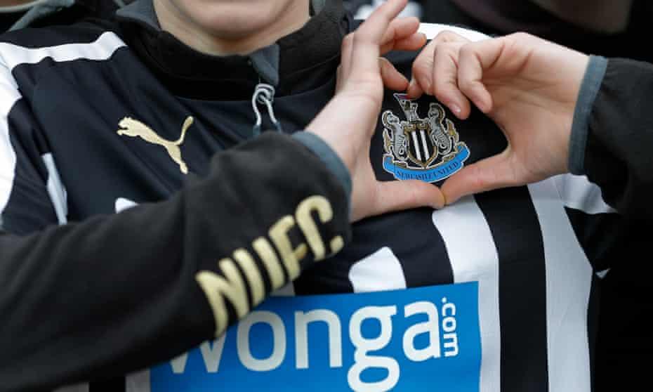 A Newcastle United fan.