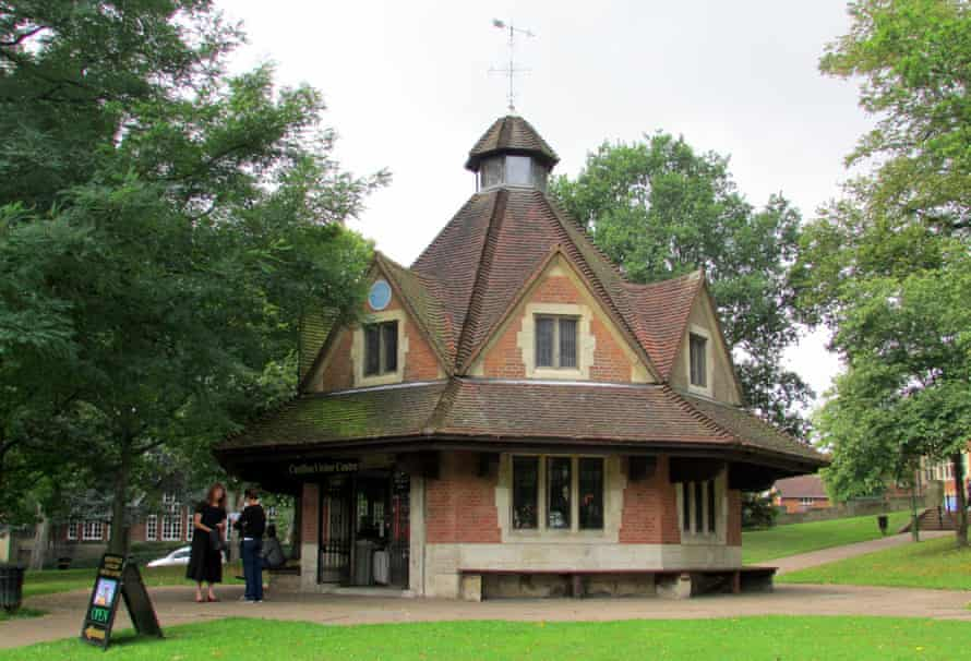 The Rest House on Bournville village green.