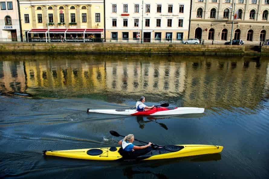 Kayaking in Gothenburg with Point65