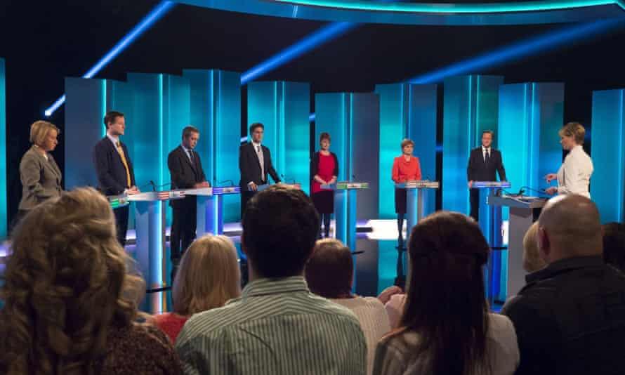 Last night's televised leaders' debate