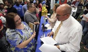 Job fair in Georgia