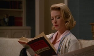 Betty reads Fitzgerald.