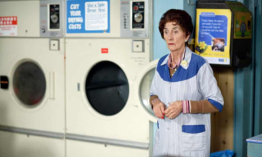 Dot Cotton in the EastEnders launderette