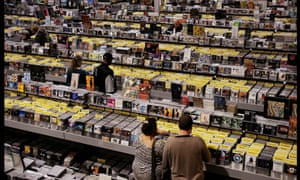 Browsing the racks: 'there's a generation of people who feel that they missed out on albums.'