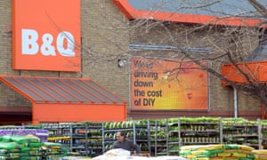 B&Q is to close one in six of its stores.