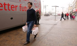 Labour leader Ed Miliband in Blackpool