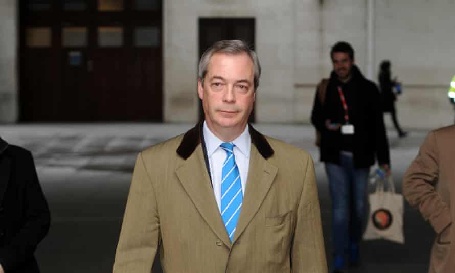 Nigel Farage: 'We would leave the EU, cut foreign aid and abolish inheritance tax.'