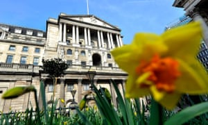 The Bank of England, where policymakers are expected to leave interest rates on hold this week, marking the first time since the 1940s that borrowing costs have been on hold for a government's entire term.