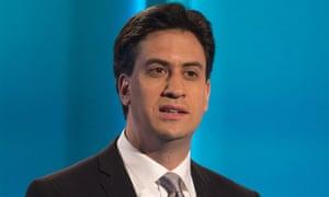 Ed Miliband leaders' debates housebuilding