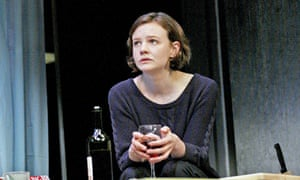Carey Mulligan in David Hare's Skylight at New York's Golden theatre. Hare said of her in a Chekhov role: 'She had an access to what she convinced you were her own feelings – as if she wasn't acting, but simply existing on the stage.'