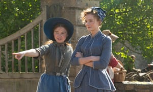 Jessica Barden as Liddy and Carey Mulligan as Bathsheba in Far From the Madding Crowd. 'I hate to be thought men's property,' she says in the film.