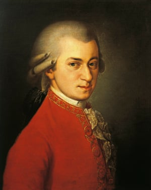Mozart: an ideal adornment for Pouilly-Fumé.