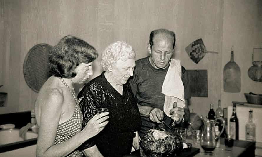 Jackson Pollock and Lee Krasn.