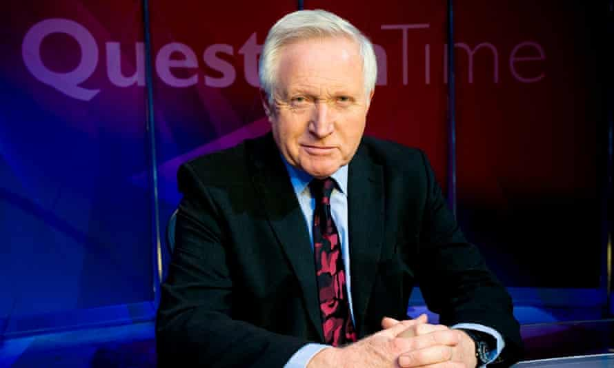 David Dimbleby is to host the BBC Question Time's election leaders' special