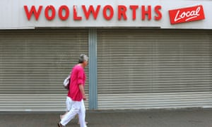 A former Woolworths Local store.