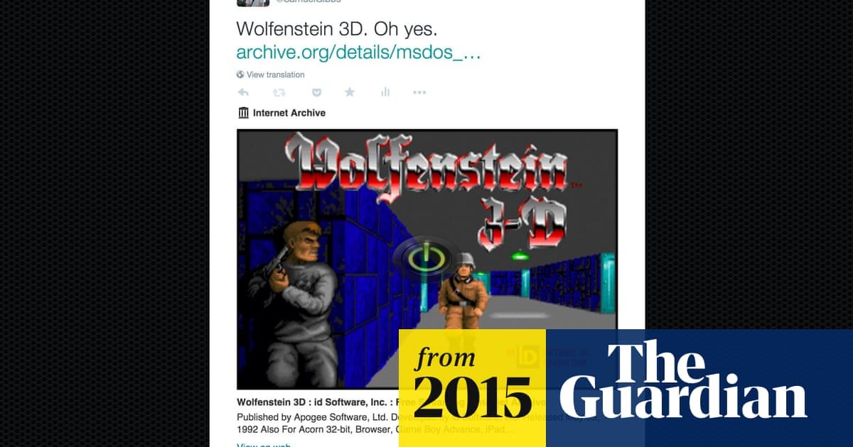 Embedding classic MS-DOS games into tweets is now a thing