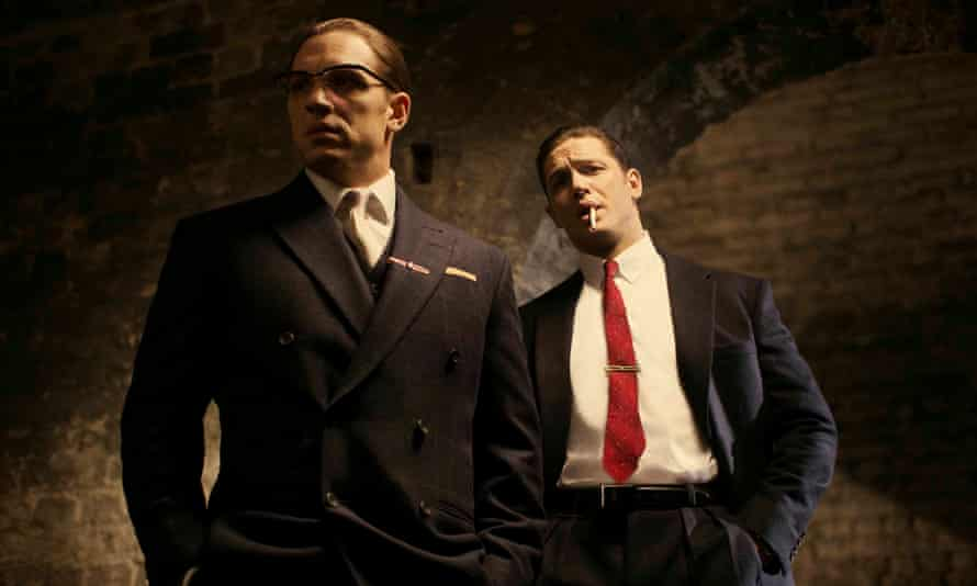 Undated handout photo issued by Studiocanal of Tom Hardy in his latest roles as Ronnie (left) and Reggie Kray in the film, Legend. PRESS ASSOCIATION Photo. Issue date: Thursday June 12, 2014.