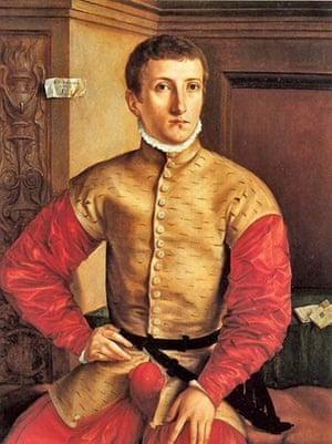 Georg Pencz, Portrait of a Young Man, 1544, Galleria degli Uffizi, Firenze