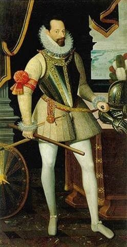 Jan Baptist Saive, Portrait of Alessandro Farnese, Duke of Parma, ca 1585, Galleria Nazionale, Parma