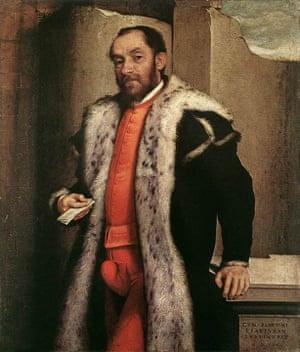 Giovanni Battista Moroni, Portrait of Antonio Navagero, 1565, Pinacoteca di Brera, Milan