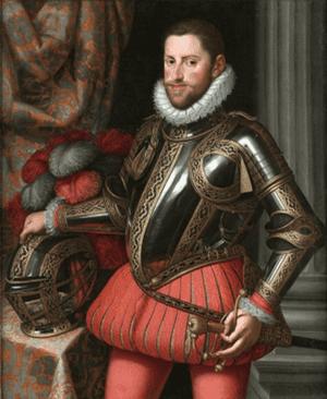 Alonzo Sanchez Coello, Portrait of Archduke Ernst of Austria, ca 1580, Museo del Prado, Madrid