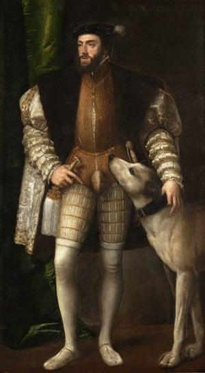 Titian, Portrait of Charles V, 1533, Museo del Prado, Madrid