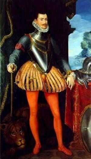 Alonzo Sanchez Coello, Portrait of Don Juan d' Austria, ca 1576, Museo del Prado (El Escorial, San Lorenzo)