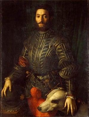 Agnolo Bronzino, Portrait of Guidobaldo II della Rovere, Duke of Urbino, 1530-32 (Galleria Palatina Repository, Florence)