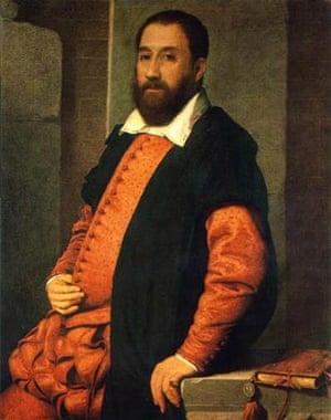 Giovanni Battista Moroni, Portrait of Jacopo Contarini, 1575, Museum of Fine Arts, Budapest
