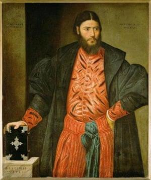 Bernardino Licinio, Portrait of Ottavio Grimani, 1541 (Kunsthistorisches Museum, Vienna)