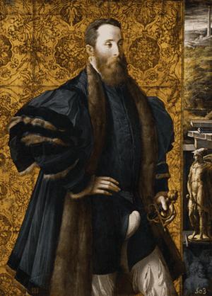 Parmigianino, Pedro Maria Rossi, or Roscio, Count of San Secondo (Museo del Prado, Madrid)