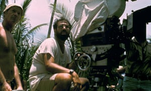 Francis Ford Coppola (right) on set in the Philippines